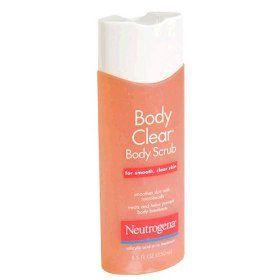 Neutrogena Body Clear Body Scrub (Uploaded by edencookies)