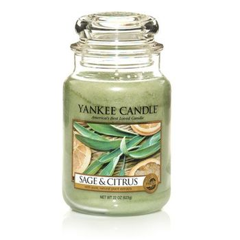 Yankee Candle - Sage & Citrus (Uploaded by picklemesoftly)