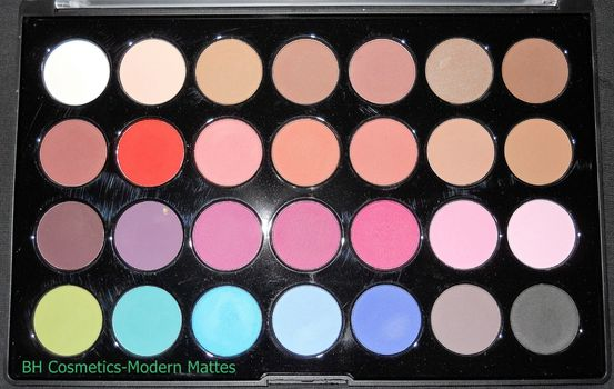 BH Cosmetics Modern Mattes  (Uploaded by Tussled)