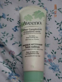Aveeno  clear Complexion Cleansing Mask (Uploaded by 6thmercury)