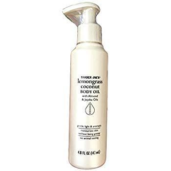 Lemongrass Coconut Body Oil