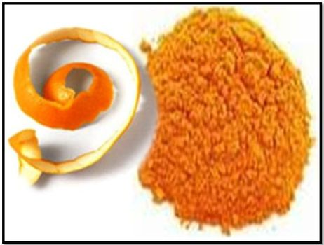 Orange Peel Powder Scrub to whiten your teeth permanently for free!