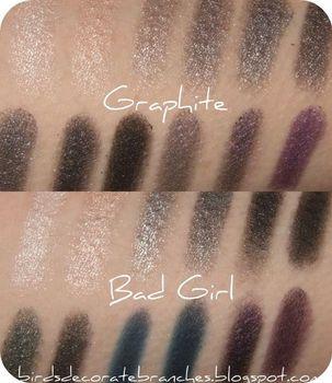 Sleek palettes Graphite vs Bad Girl  (Uploaded by NikkiDagger)