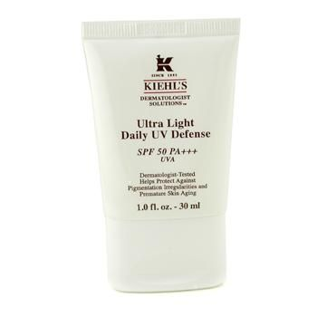 Kiehl's Ultra Light Daily UV Defense SPF 50 PA+++ reviews, photos, ingredients - MakeupAlley