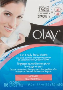 Olay - 4-In-1 Daily Facial Cloth - Normal (Uploaded by michali)
