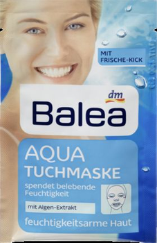 Balea Aqua Sheet Mask (Uploaded by bunnybee1)