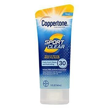 Coppertone Sport Clear Sunscreen Lotion