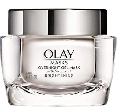 Brightening Overnight Gel Face Mask with Vitamin C