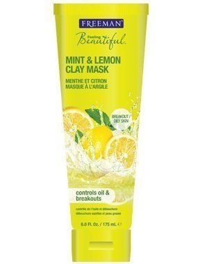 Facial Clay Mask - Mint & Lemon