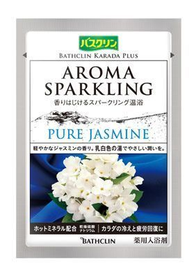 Aroma Sparkling Bath Powder - Pure Jasmine