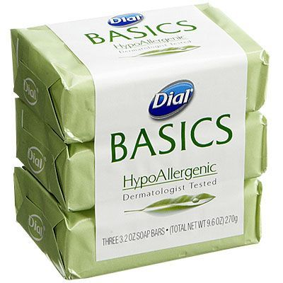 Basics HypoAllergenic Bar Soap