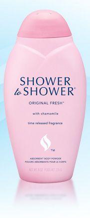 Shower to Shower Original Fresh with Chammomile Body Powder