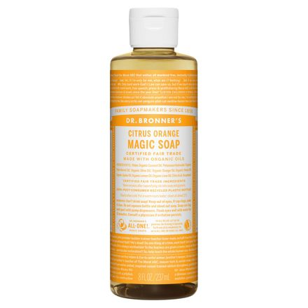Pure-Castile Liquid Soap Citrus Orange