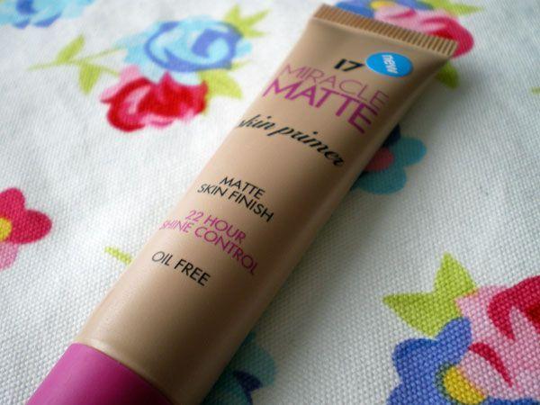 17 Miracle Matte Skin Primer