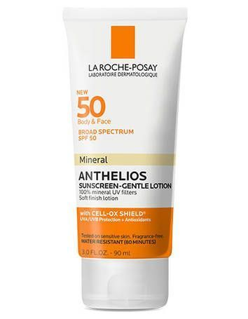 Anthelios SPF 50 Mineral Sunscreen - Gentle Lotion