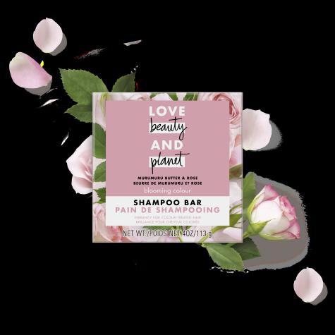 murumuru butter & rose shampoo bar