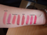 NYX Round Lipsticks Swatches (Uploaded by ParisNymph)