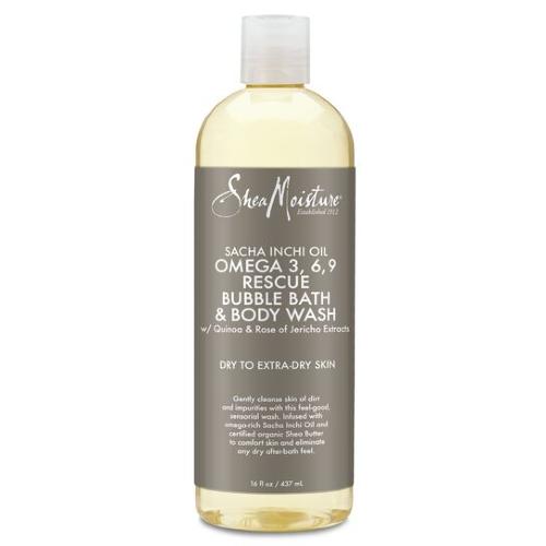 Sacha Inchi Oil Omega 3-6-9 Rescue Bubble Bath & Body Wash