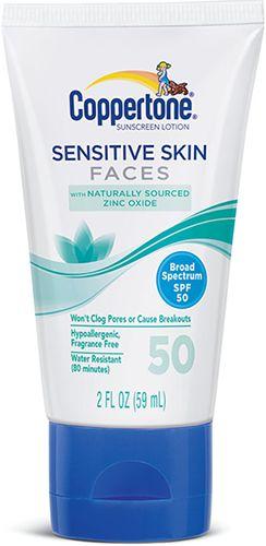 Sensitive Skin Faces SPF 50