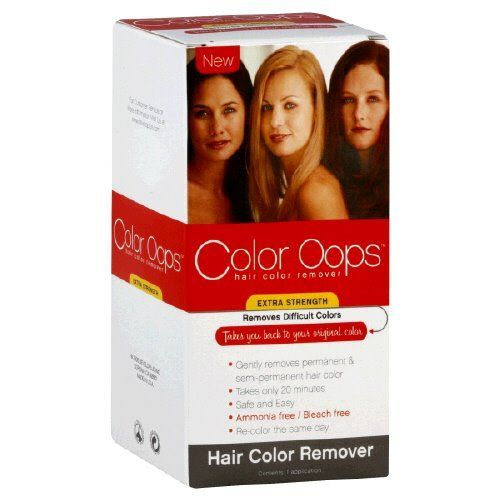 Extra Strength Hair Color Remover