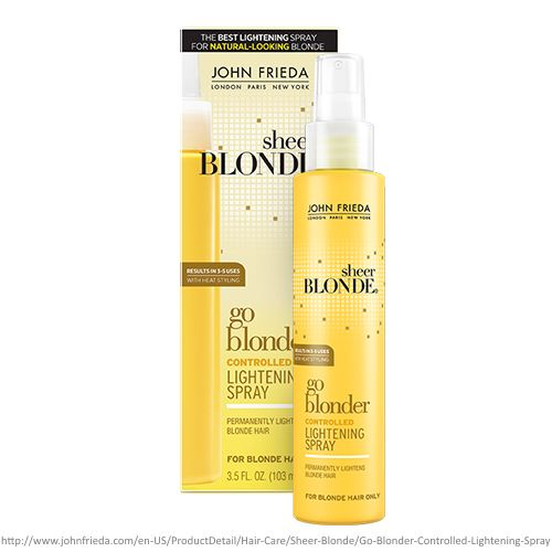 Go Blonder Lightening Spray