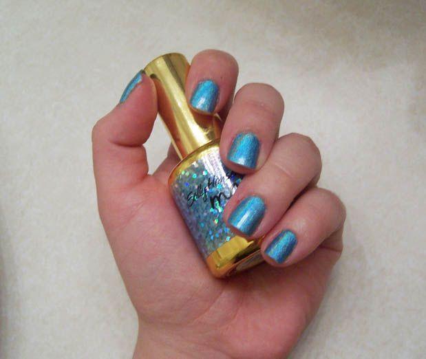 Magical Nail Makeup - Blue Aura