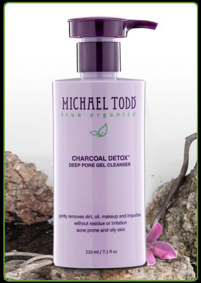 Charcoal Detox deep pore gel cleanser