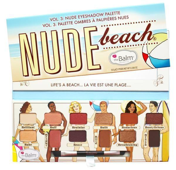 Nude Beach Eyeshadow Palette