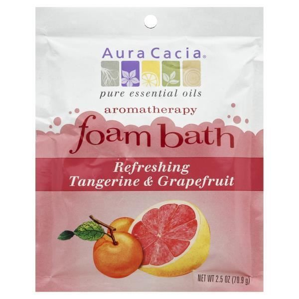 Aromatherapy Foam Bath - Refreshing Tangerine & Grapefruit