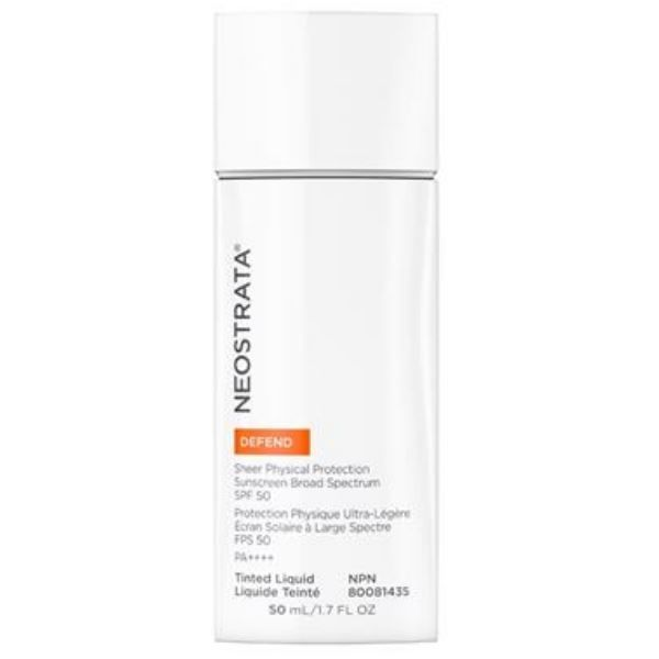 DEFEND Sheer Physical Protection Sunscreen Broad Spectrum SPF50