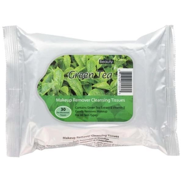 Makeup Remover Cleansing Tissues Green Tea