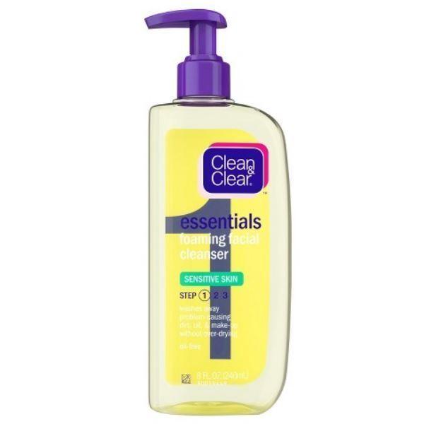 Essentials Foaming Face Wash For Sensitive Skin