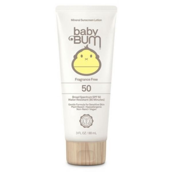 Baby Bum Mineral Sunscreen Lotion SPF 50