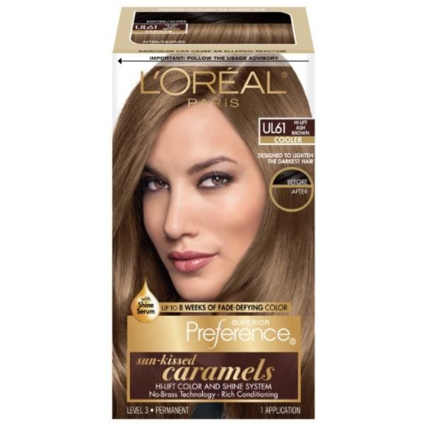 Superior Preference Fade-Defying Color + Shine Hair Color - Ultra Light Ash Brown (UL61)