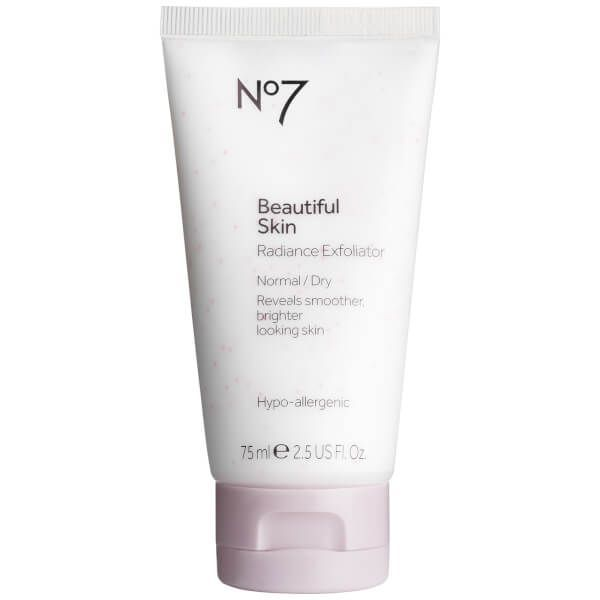No 7 Beautiful Skin Radiance Exfoliator - Normal to Dry