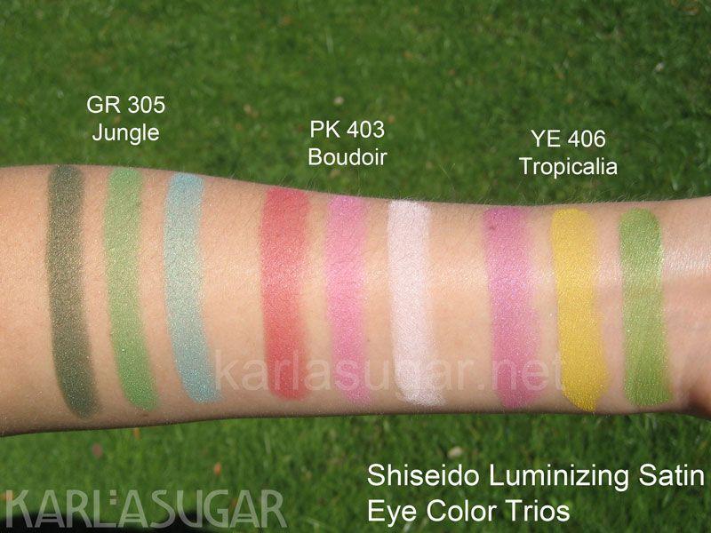 Luminizing Satin Eye Color Trio - GR 305 Jungle