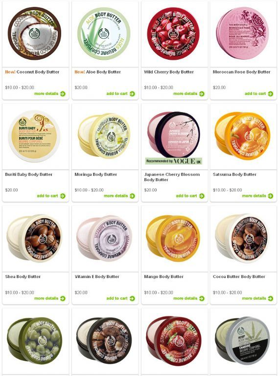 The Body Shop Body Butter Reviews Photos Ingredients Makeupalley