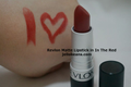 Matte Lipstick - In the Red [DISCONTINUED]