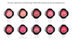 Perfect Rouge Tender Sheer Lipstick [all shades]