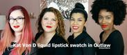 Kat Von D Everlasting Liquid Lipstick Lip Swatch i