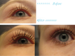 Almay Intense i-color Brown Topaz before after