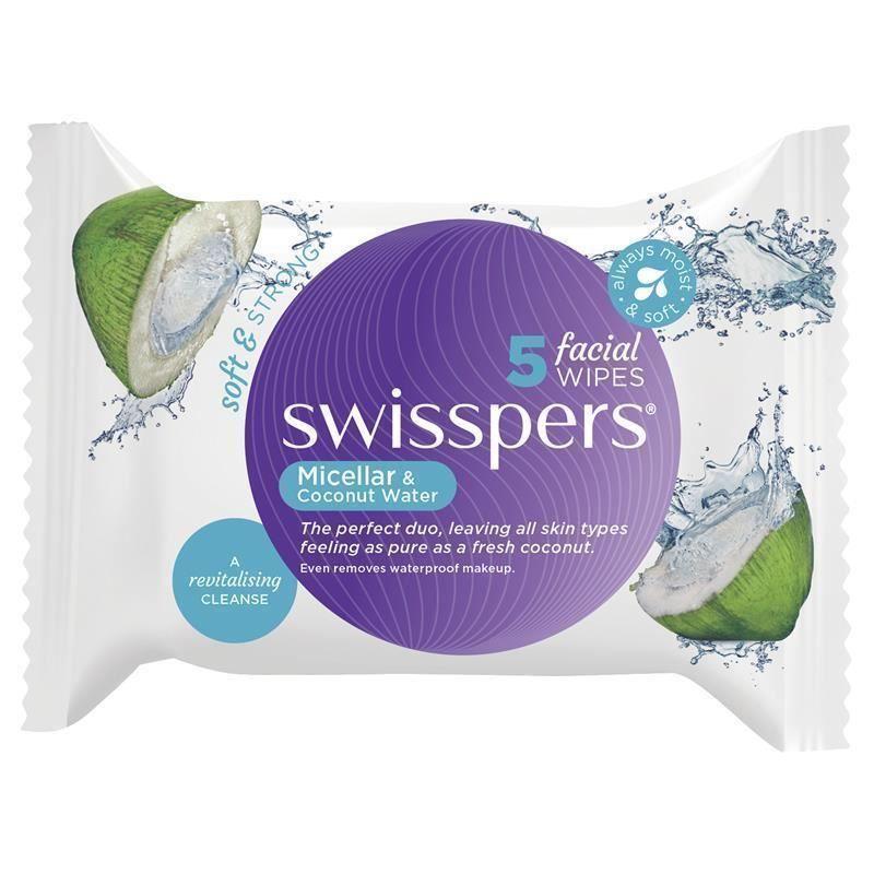 Micellar & Coconut Water Facial Wipes
