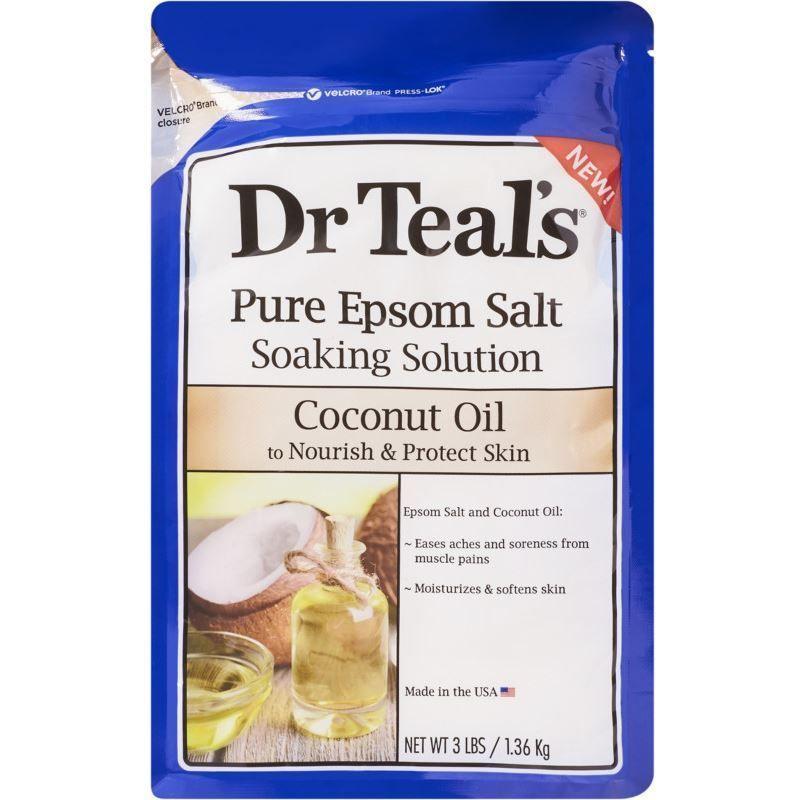 Pure Epsom Salt Soaking Solution - Coconut Oil