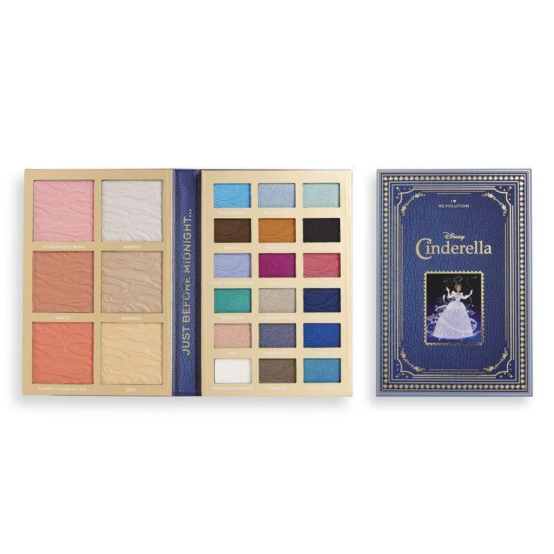 Disney Fairytale Books face & eye Palette - Cinderella