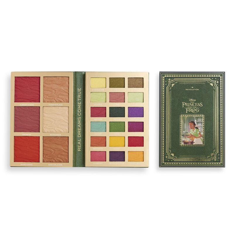 Disney Fairytale Books face & eye Palette - Tiana