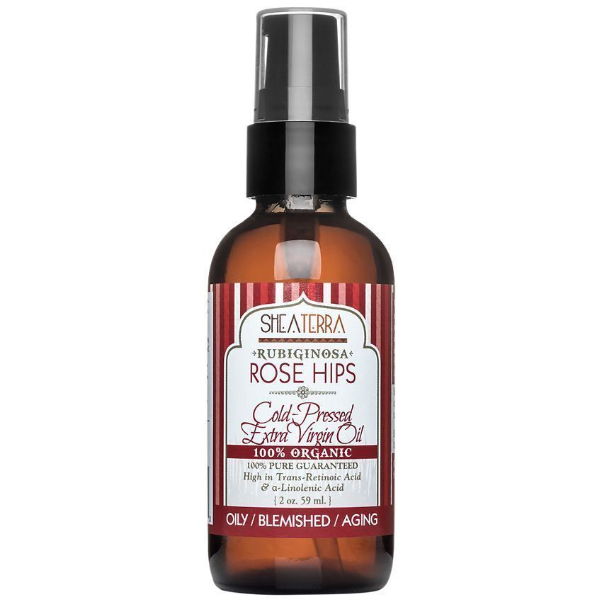 100% Organic Rubiginosa Rose Hips Cold Pressed Extra Virgin Oil