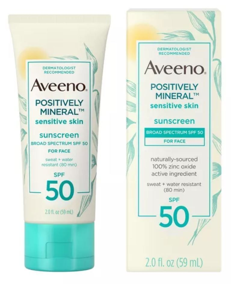 Positively Mineral Sensitive Skin Sunscreen